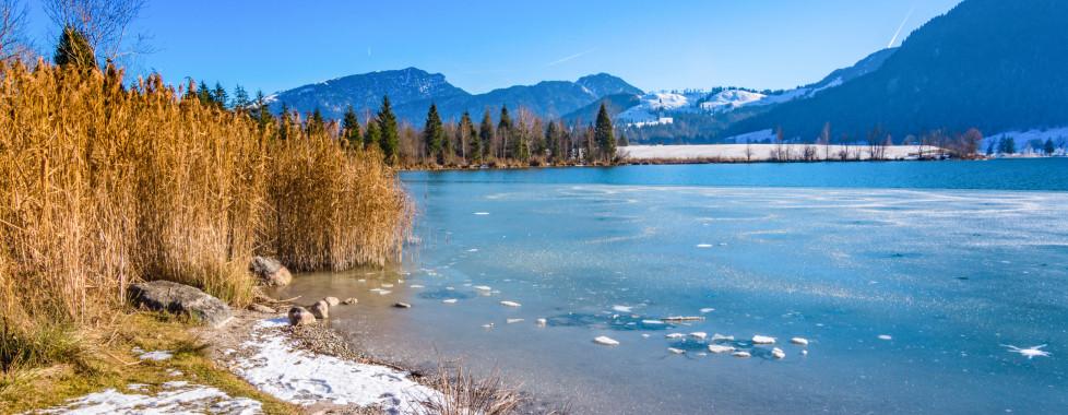 Walchsee en hiver