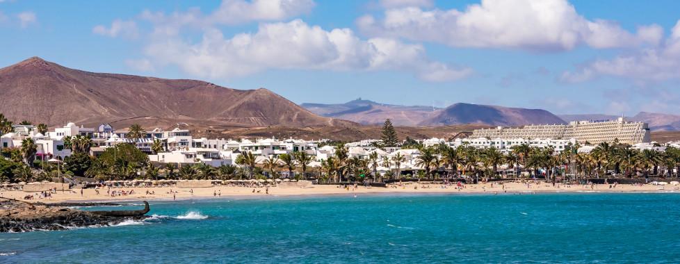 Playa de las Cucharas in Costa Teguise