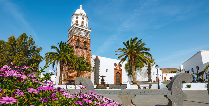 Iglesia de Nuestra Senora de Guadalupe in Costa Teguise