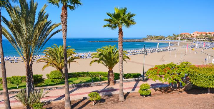 Blick auf Playa de las Vistas