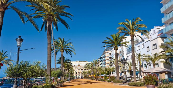Promenade, Lloret de Mar