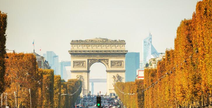 Champs-Elysées / Triumphbogen