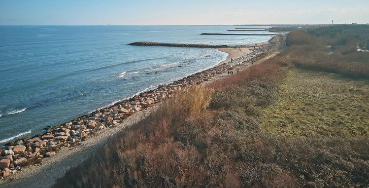 Küste von Rosolina Mare