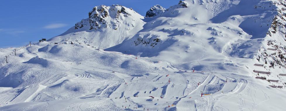 Skigebiet im Montafon