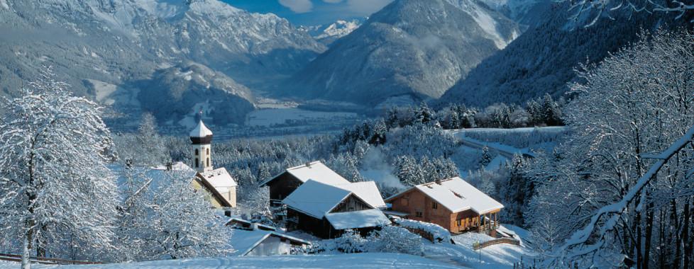 Bürserberg im Winter