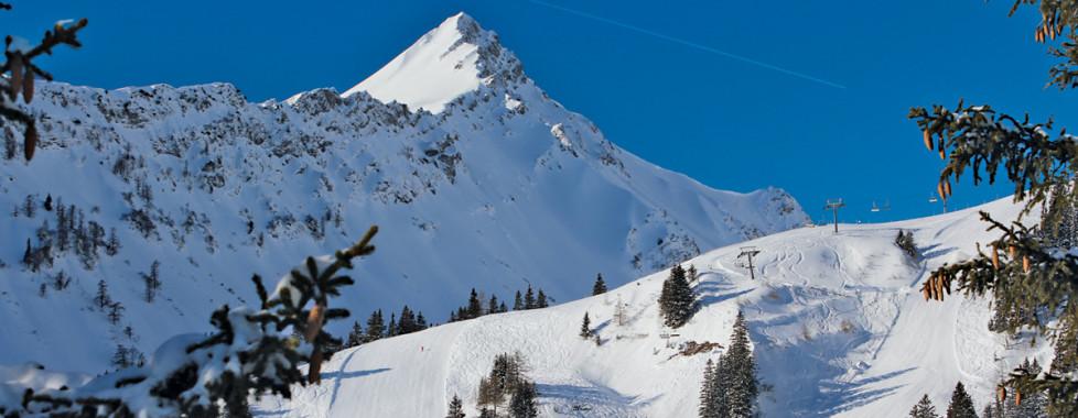 Winterlandschaft im Brandnertal ©BRANDNERTAL TOURISMUS