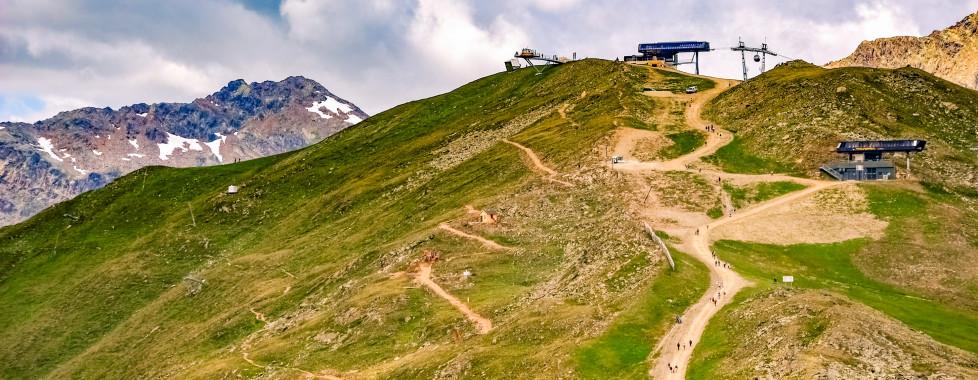 Vacances d'été à Oberinntal