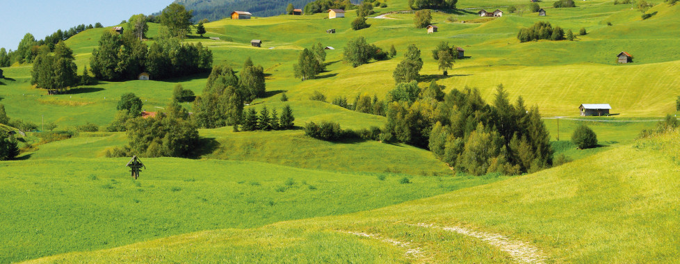 Wanderweg im Oberinntal