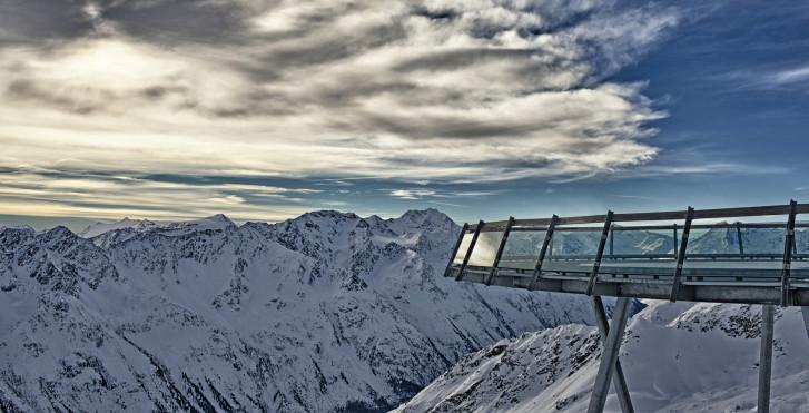 Panoramablick vom Gaislachkogl