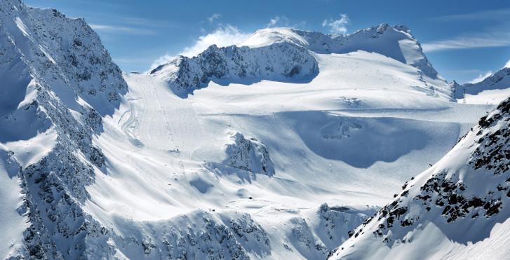 Gletscherskigebiet Sölden / Rettenbachgletscher