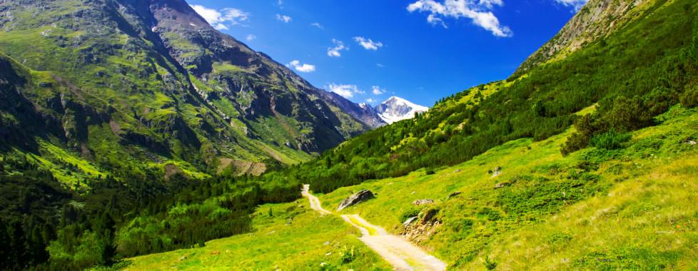 Faire de la randonnée à Sölden