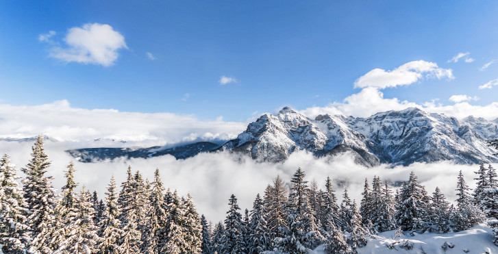Tiroler Alpen bei Neustift im Stubaital