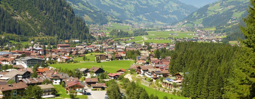 Mayrhofen en été