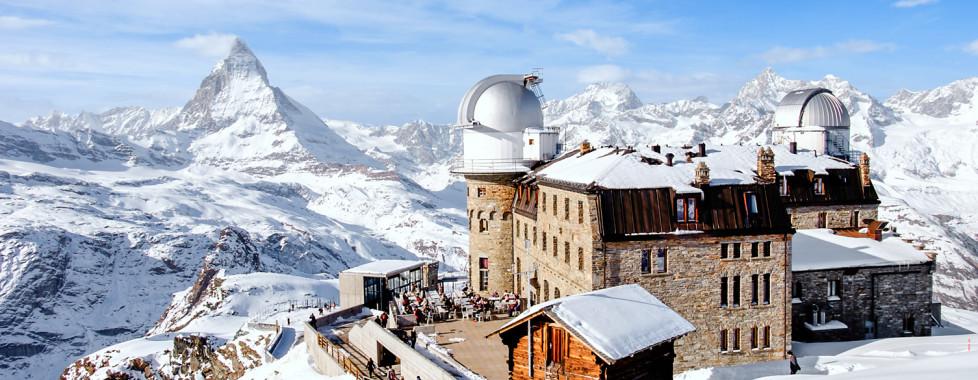Blick auf das Matterhorn