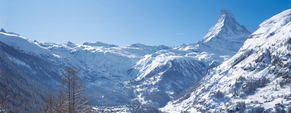 Vue sur Zermatt