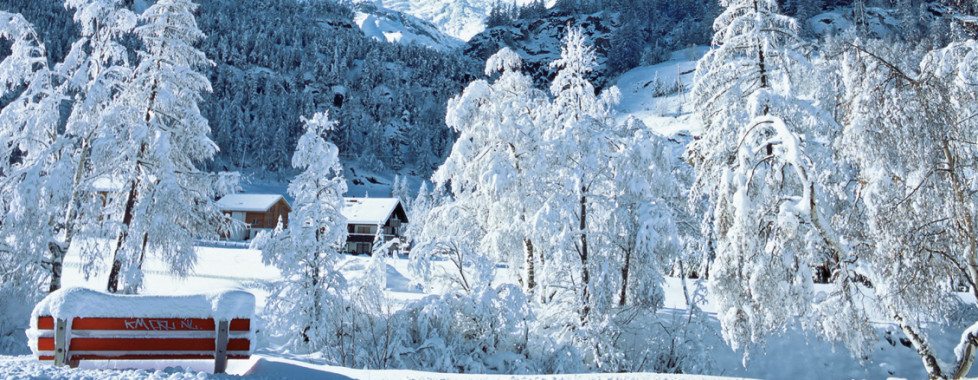 Winterlandschaft Saas-Fee