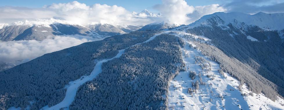 Piste de l'Ours et piste des Mayens, © lafouinographe