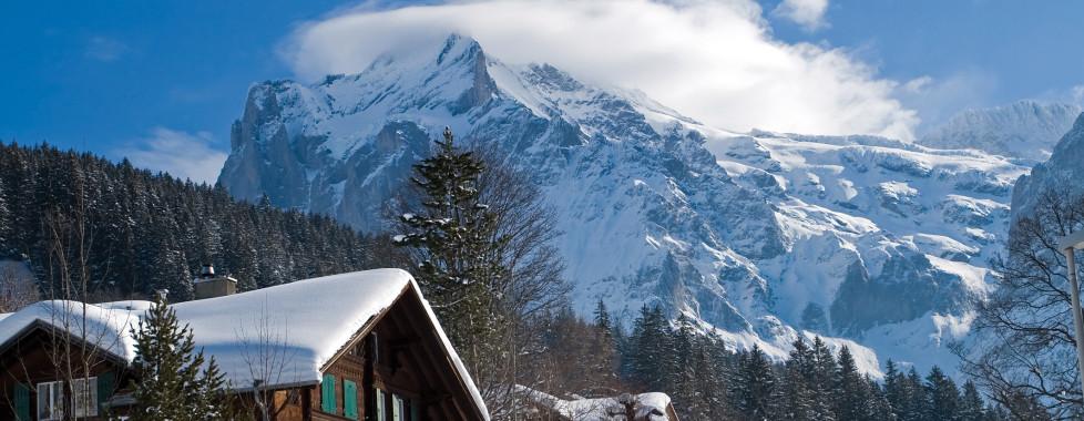 Grindelwald en hiver
