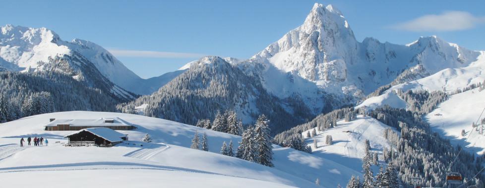 Skigebiet in Saanen