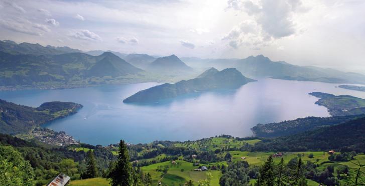 Blick auf den Vierwaldstättersee © Luzern Tourismus