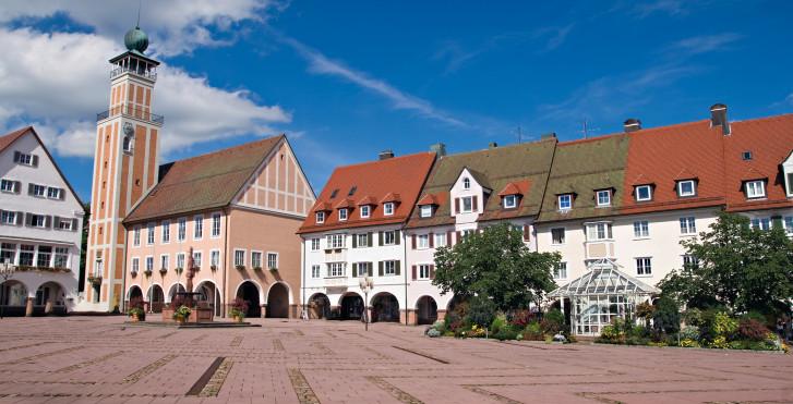 Freudenstadt im Sommer