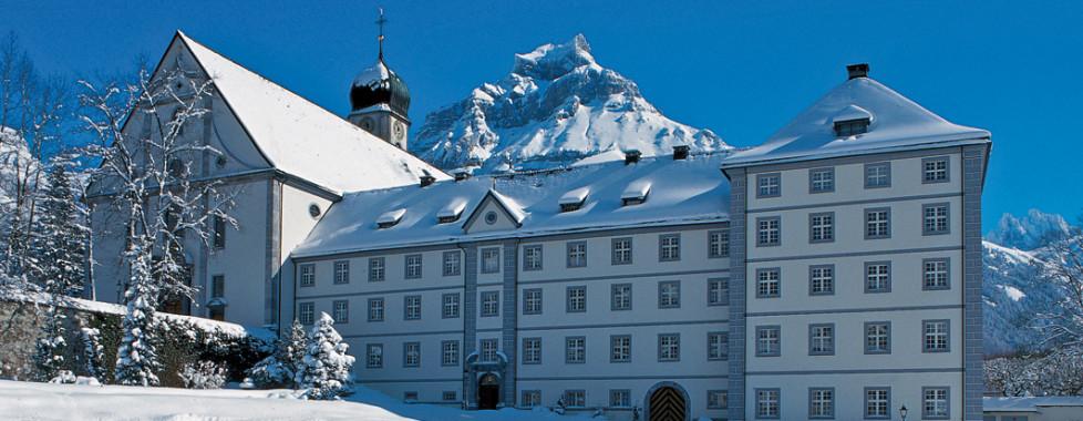 Kloster, © Engelberg-Titlis, Foto: Christian Perret