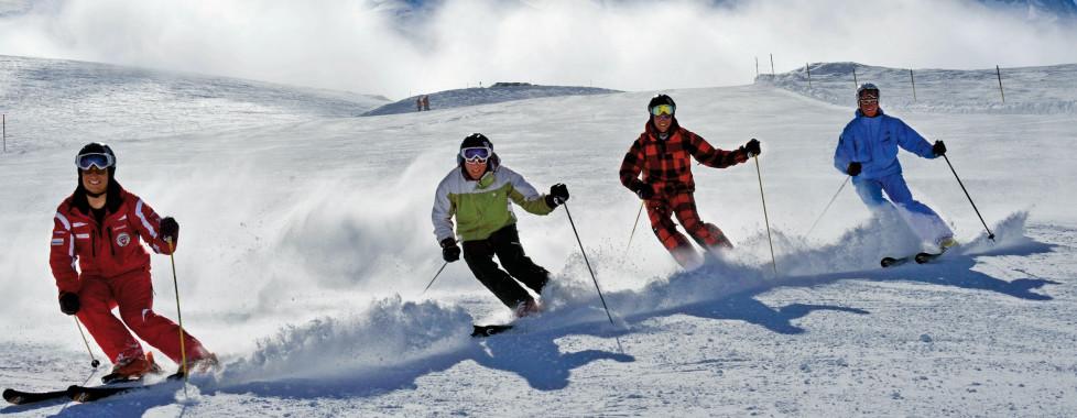 Skifahren in Engelberg
