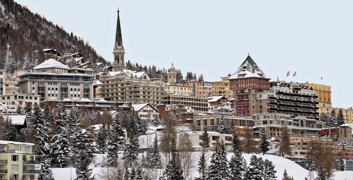 St. Moritz im Winter