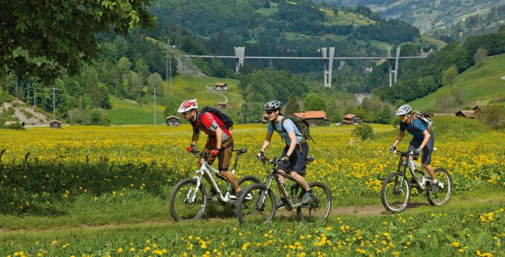 Biken in Klosters