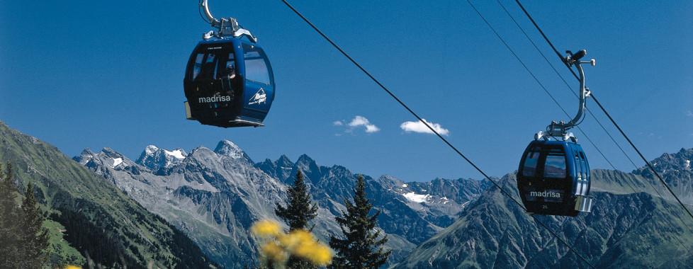 Klosters, Madrisa, Bergbahn