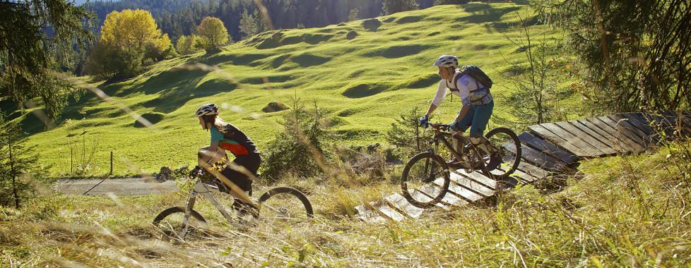 Mountainbiketouren in Laax