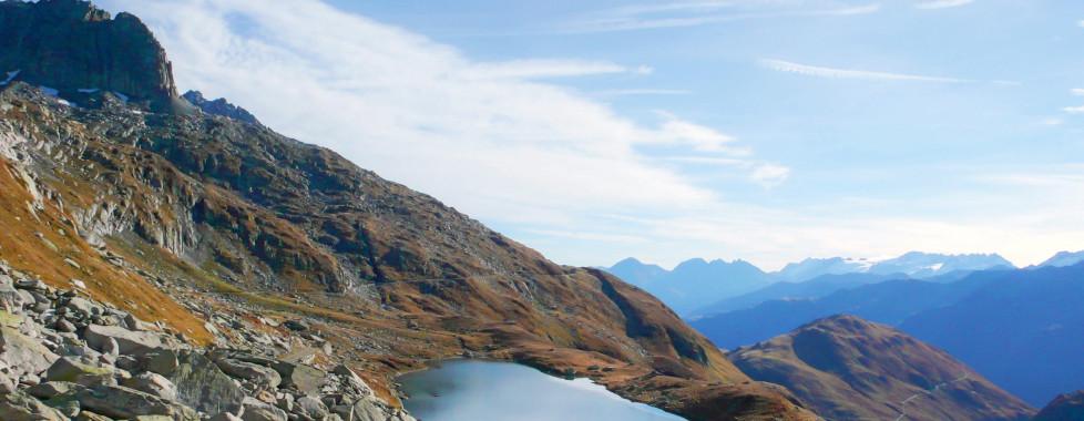 Bergsee Disentis