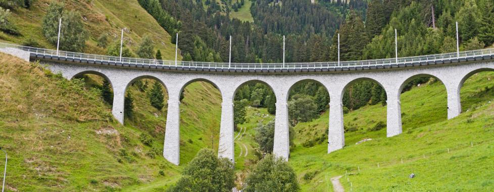 Val Bugnei Viaduct