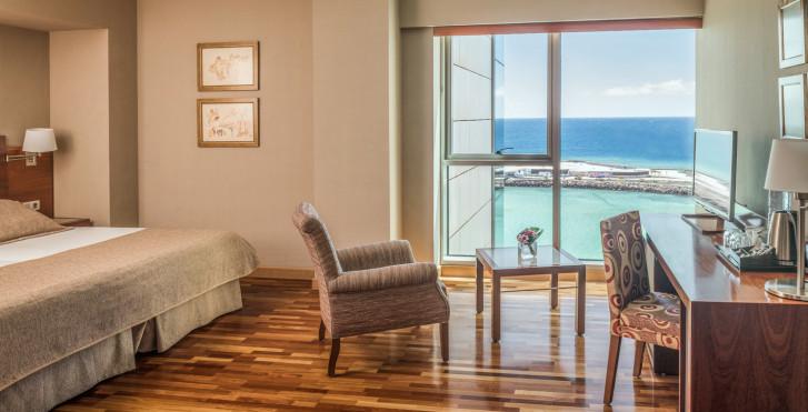 Chambre double vue mer - Arrecife Gran Hotel & Spa