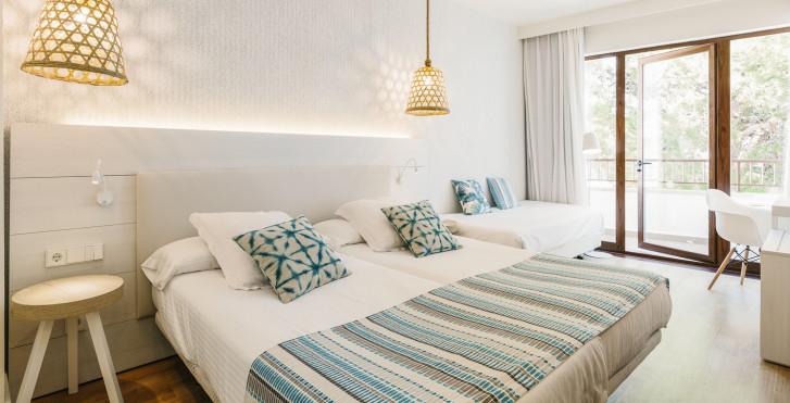 Doppelzimmer Meerblick - Alua Miami Ibiza