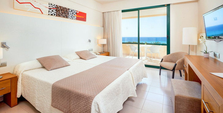 Chambre double vue mer - Hipotels Marfil Playa