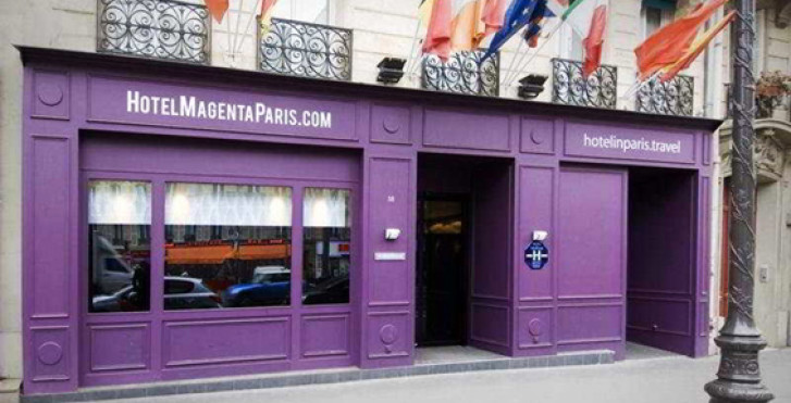 Magenta paris hotel paris vacances migros for Liste des hotels a paris