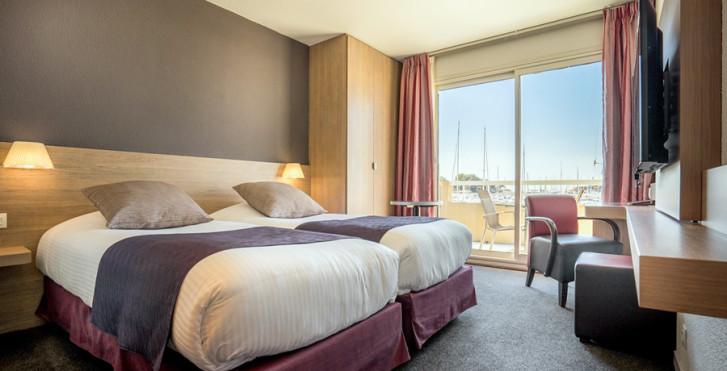 Chambre double Superior - Best Western Plus Hôtel La Marina