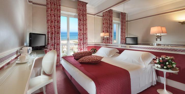 Chambre double Deluxe - Hôtel Milton Rimini