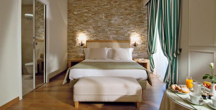 Doppelzimmer Comfort Chic - Kurhaus Cademario Hotel & Spa