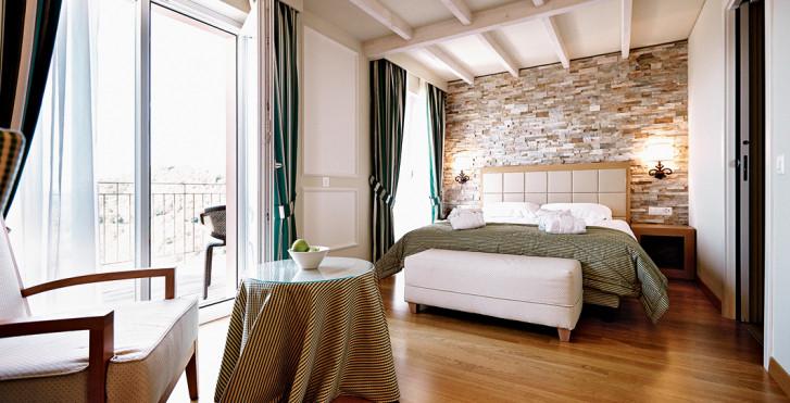 Chambre double Comfort Chic - Kurhaus Cademario Hotel & Spa