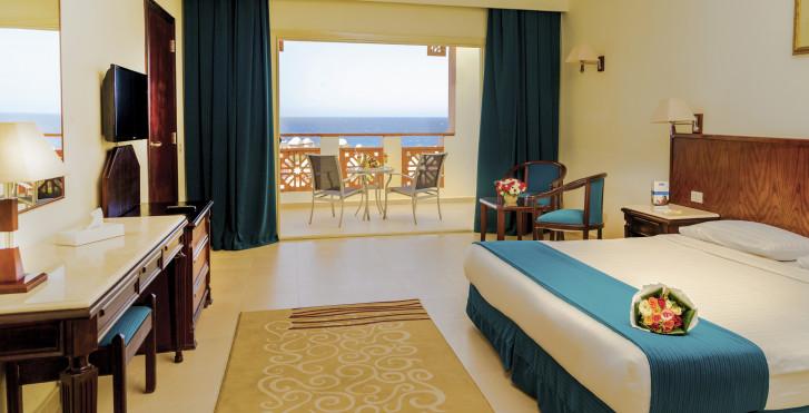 Chambre double Deluxe vue mer - Serenity Makadi Beach