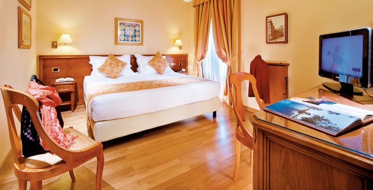 chambre double - Best Western Galles