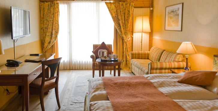 Chambre double - Hôtel Silberhorn