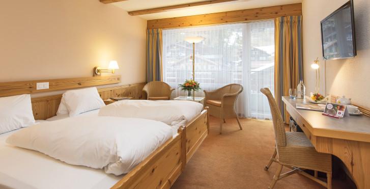 Chambre double - Sunstar Hotel Grindelwald - forfait ski