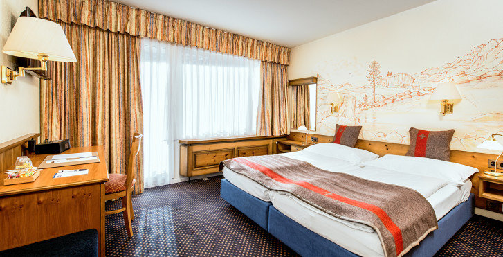 Chambre double Neo - Best Western Hotel Butterfly - Forfait ski