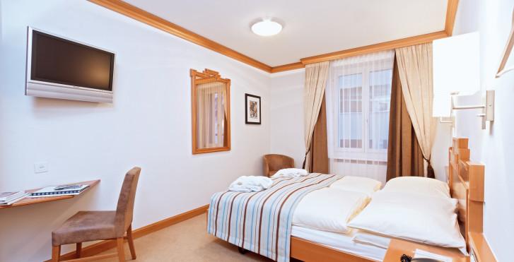 Chambre double - Art Boutique Hotel Monopol - Forfait ski