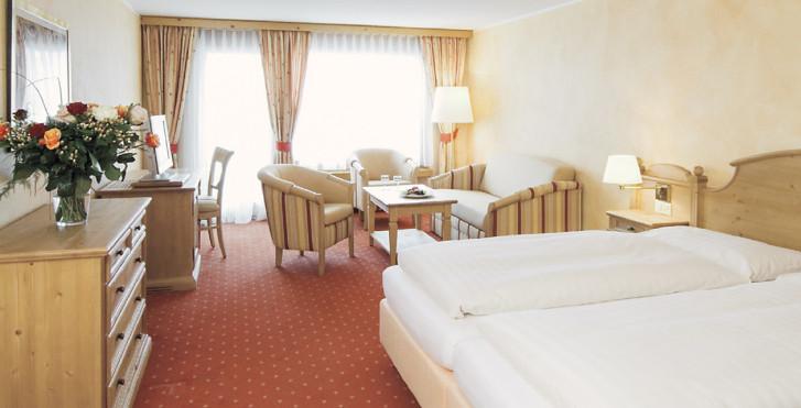 Doppelzimmer - Silvretta Parkhotel - Skipauschale