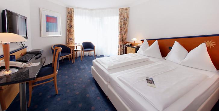 Chambre double Superior - Turmhotel Victoria - Forfait ski