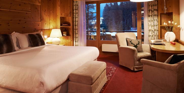 Doppelzimmer Superior - Hotel Waldhuus Davos - Skipauschale